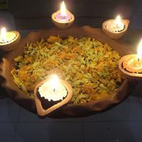 दीपावली सप्त दीपों का प्रकाश पुंज है।